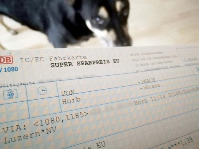 Bahn, Hund und Fahrkarte: Ein Drama in 8 Akten
