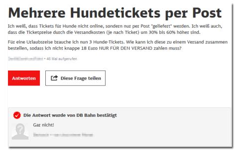 DB-Service-Hundetickets